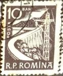 Stamps Romania -  Intercambio 0,20 usd 10 b. 1960
