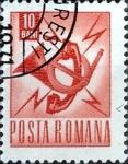 Sellos de Europa - Rumania -  Intercambio 0,20 usd 10 b. 1968
