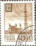 Sellos de Europa - Rumania -  Intercambio 0,20 usd 1,55 l. 1971