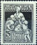 Sellos de Europa - Rumania -  Intercambio 0,20 usd 25 b. 1921