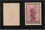 Stamps Argentina -  Cristo redentor de los Andes