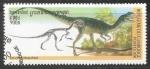 Sellos del Mundo : Asia : Camboya : Dilophosaurus-dinosaurios