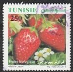 Stamps Tunisia -  Fresas
