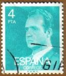 Stamps Spain -  S. M. D. JUAN CARLOS I