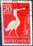 Stamps Romania -  Intercambio nfxb 0,20 usd 20 b. 1957