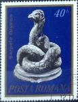 Stamps of the world : Romania :  Intercambio 0,20 usd 40 b. 1974