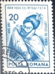 Stamps : Europe : Romania :  Intercambio 0,20 usd 20 b. 1974