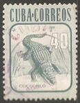 Stamps Cuba -  Cocodrilo