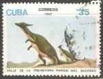 Stamps Cuba -  Animales prehistoricos