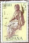 Stamps Spain -  Intercambio cryf 0,20 usd 5 ptas. 1972
