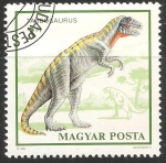 Stamps Hungary -  Tardosaurus
