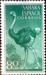 Stamps Spain -  Intercambio jxi 0,75 usd 80 cent. 1954