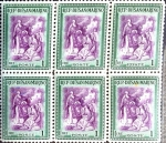 Stamps : Europe : San_Marino :  Intercambio 1,80 usd 6 x 1 l. 1947
