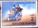 Stamps : Europe : San_Marino :  Intercambio 0,20 usd 2 l. 1962