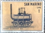 Stamps : Europe : San_Marino :  Intercambio 0,20 usd 1 l. 1964