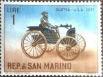 Sellos de Europa - San Marino -  Intercambio aexa 0,20 usd 1 l. 1962
