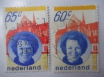 Sellos de Europa - Holanda -  Reina Beatriz.