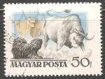 Sellos de Europa - Hungría -  Toros