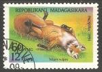 Sellos de Africa - Madagascar -  Vulpes vulpes-zorro rojo