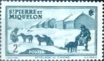 Stamps : America : San_Pierre_&_Miquelon :  Intercambio crxf 0,20 usd 2 cent. 1938