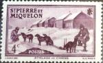 Stamps : America : San_Pierre_&_Miquelon :  Intercambio crxf 0,20 usd 4 cent. 1938