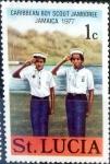 Sellos del Mundo : America : Santa_Lucia : Intercambio nfxb 0,20 usd 1 cent. 1977