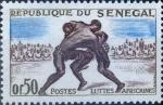 Sellos del Mundo : Africa : Senegal : Intercambio 0,20 usd 50 cent. 1961