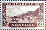 Stamps : Africa : Senegal :  Intercambio 0,20 usd 2 cent. 1935