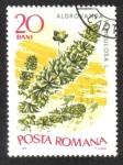 Stamps Romania -  Plantas Acuáticas