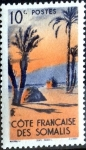 Stamps : Europe : France :  Intercambio 0,20 usd 10 cent. 1947