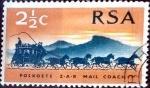 Sellos del Mundo : Africa : Sudáfrica : Intercambio 0,20 usd 2,5 cent. 1969