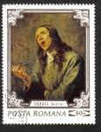 Sellos de Europa - Rumania -  Pinturas - Sentidos