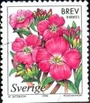 Sellos de Europa - Suecia -  Intercambio m2b 0,35 usd 5 krone 1998