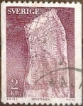 Stamps of the world : Sweden :  Intercambio 0,20 usd 2 krone 1975