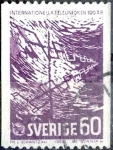 Sellos de Europa - Suecia -  Intercambio 0,45 usd 60 ore 1965