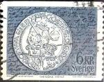 Stamps Sweden -  Intercambio 0,20 usd 6 krone 1972