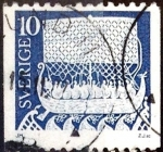 Stamps : Europe : Sweden :  Intercambio 0,20 usd 10 ore 1973