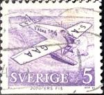Sellos de Europa - Suecia -  Intercambio nfxb 0,20 usd 5 ore 1972