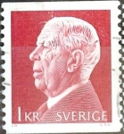 Stamps Sweden -  Intercambio 0,20 usd 1 krone 1972