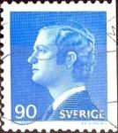 Sellos de Europa - Suecia -  Intercambio 0,20 usd 90 ore 1975
