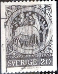 Sellos de Europa - Suecia -  Intercambio 0,20 usd 20 ore 1970