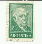 Sellos del Mundo : America : Argentina : DOMINFO F. SARMIENTO