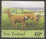 Stamps New Zealand -  Fauna
