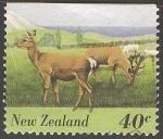 Sellos de Oceania - Nueva Zelanda -  Fauna