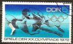 Sellos de Europa - Alemania -  XX. juegos olímpicos de verano en Munich 1972(DDR).