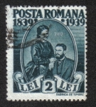 Sellos de Europa - Rumania -  King Carl I and Queen Elisabeth
