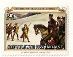 Sellos de Africa - Rwanda -  Bicentenario de EEUU. 1776-1976