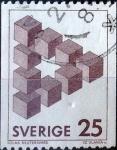 Sellos del Mundo : Europa : Suecia : Intercambio 0,20 usd 25 ore 1982