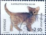 Stamps Sweden -  Intercambio nfxb 0,25 usd 2,50 krone  1992