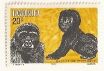 Sellos de Africa - Rwanda -  Gorilas